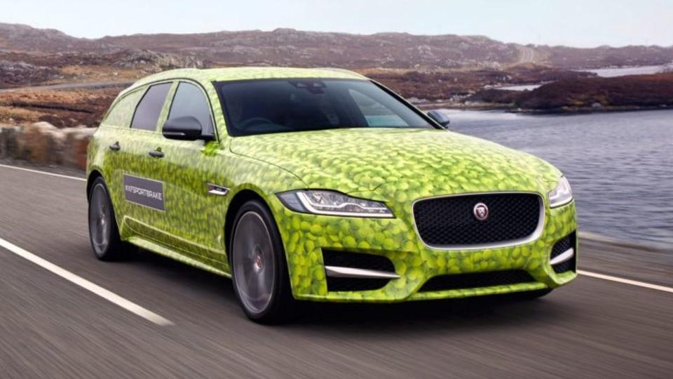 Jaguar XF Sportbrake teased