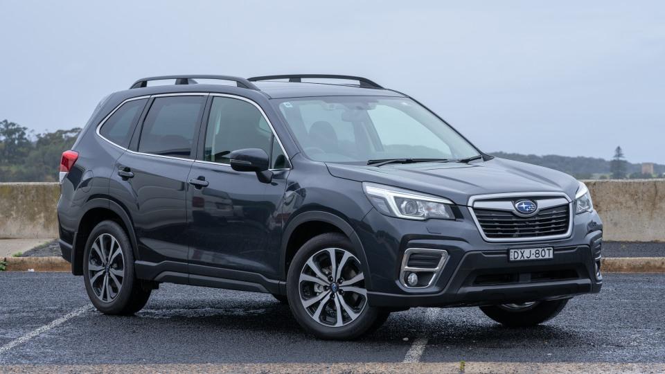 2018 Subaru Forester 2.5i Premium.