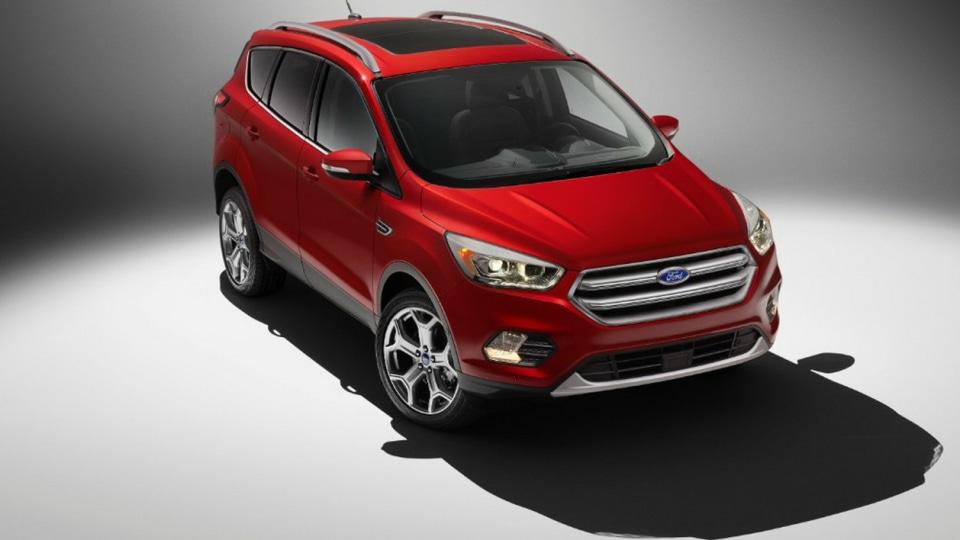 Ford Kuga For 2017 Debuts In Escape Trim At LA Auto Show