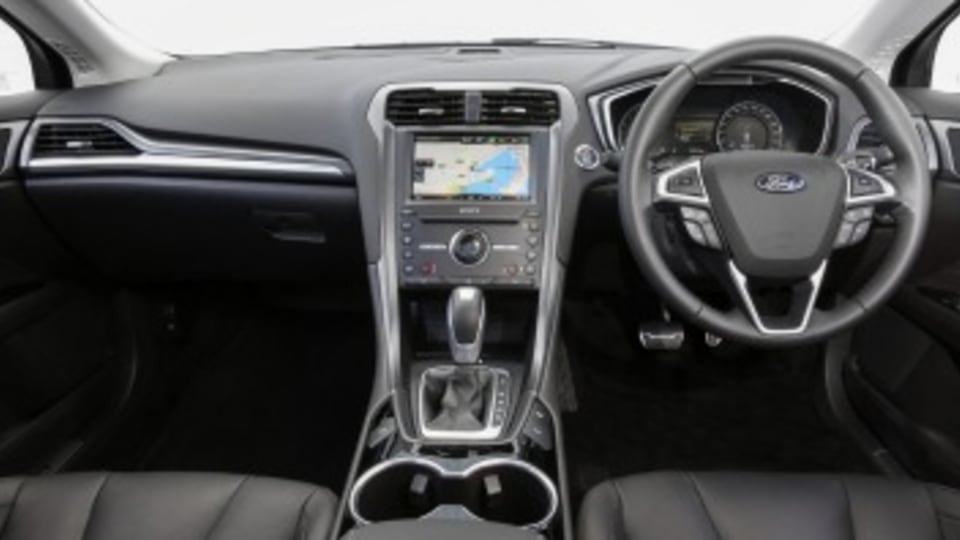The interior has been given a major overhaul for the new Mondeo.