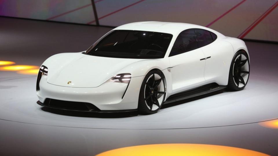 Porsche Mission E concept.