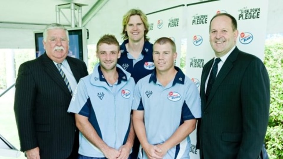 NSW Government Partners With Aussie Cricketers For Anti-Speeding Campaign