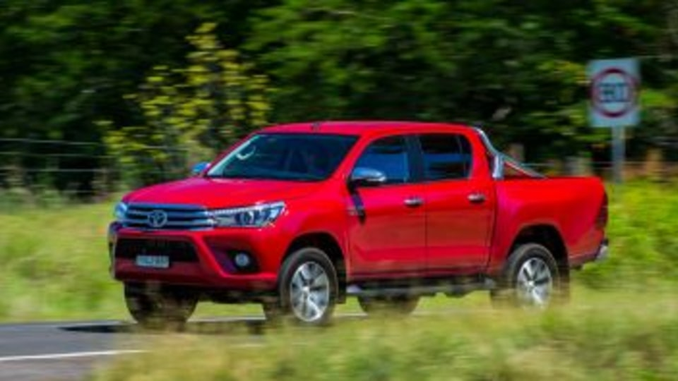 The Toyota HiLux remains Australia's most popular new vehicle.
