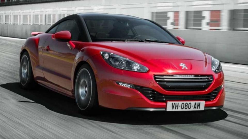 Peugeot RCZ-R.