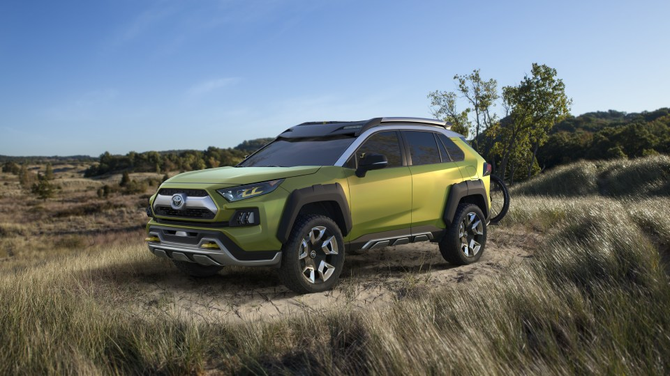 Toyota tempts Instagram generation with SUV concept