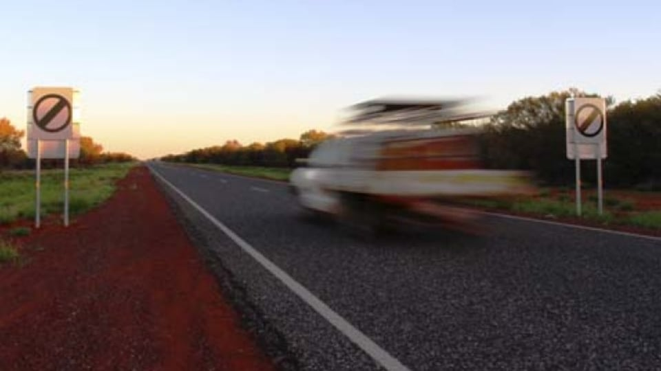 Speed limit removal in the Northern Territory