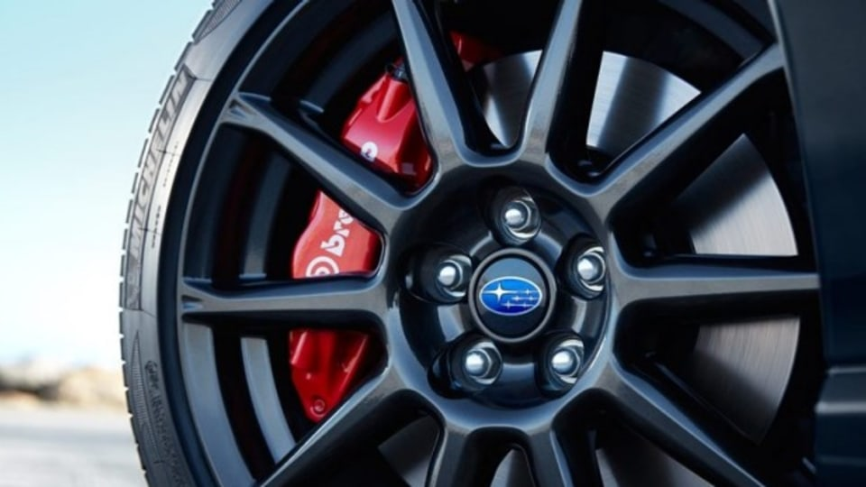 Brembo brakes are on the options list.
