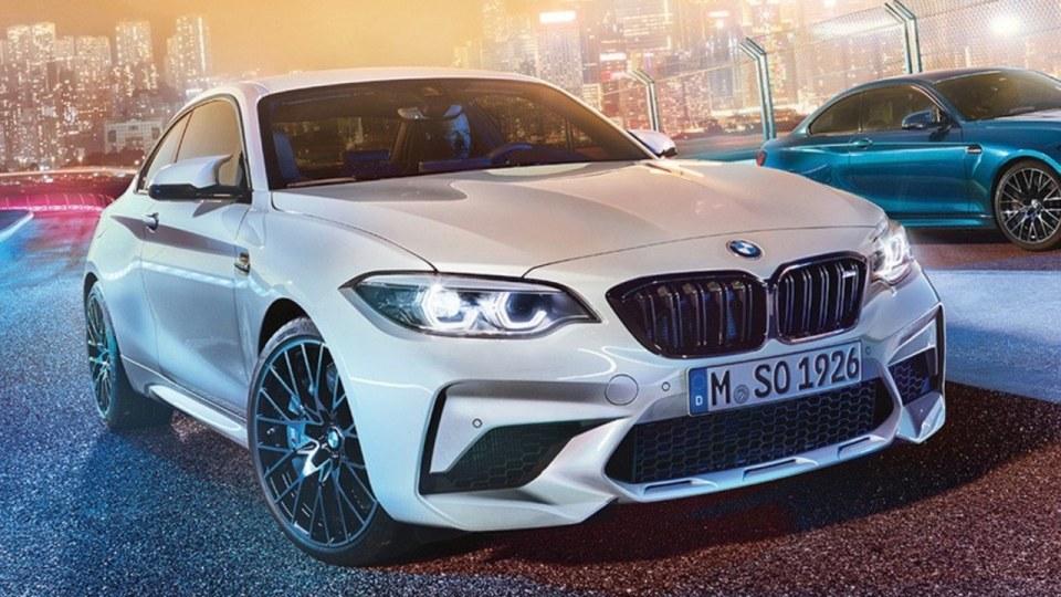 BMW Australia confirms M2 Competition