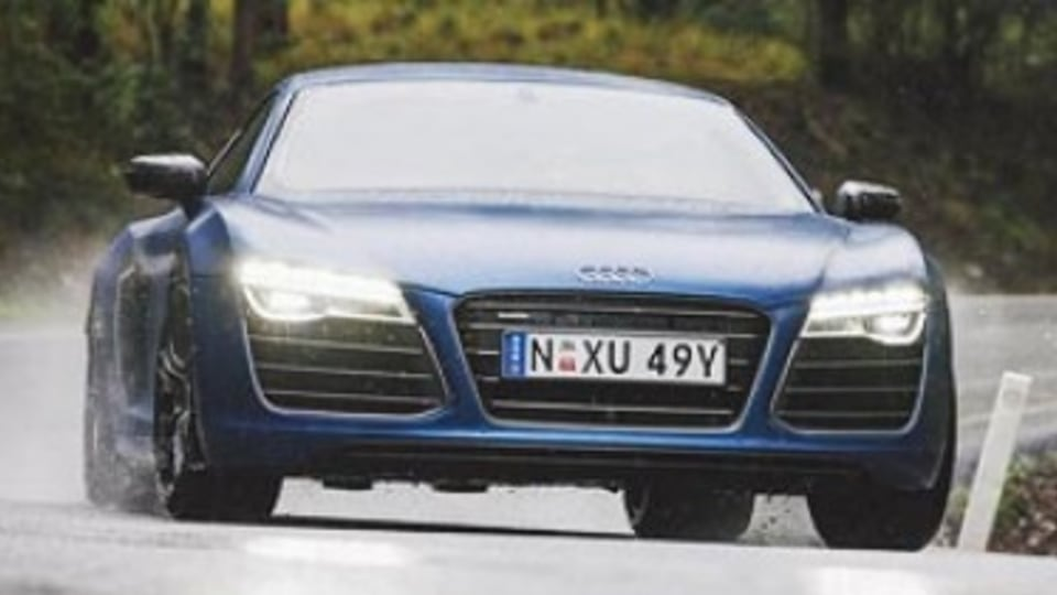Quick spin: Audi R8 V10 Plus
