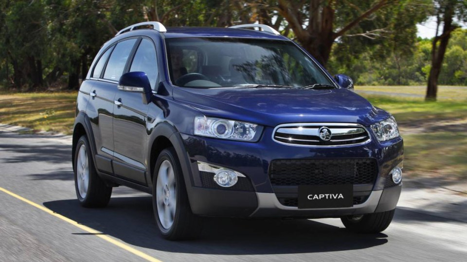 2011 Holden Captiva 7 LX Petrol Road Test Review