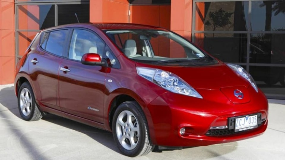 The electric-powered Nissan Leaf creates more CO2 emissions than a V6 Commodore.