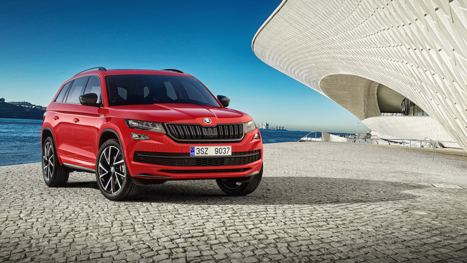 Skoda Kodiaq Sportline Set For Geneva Reveal