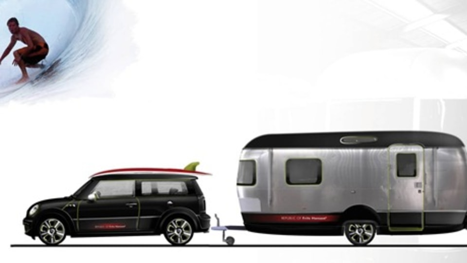 MINI And Airstream Team Up For Surfer-Spec Concept