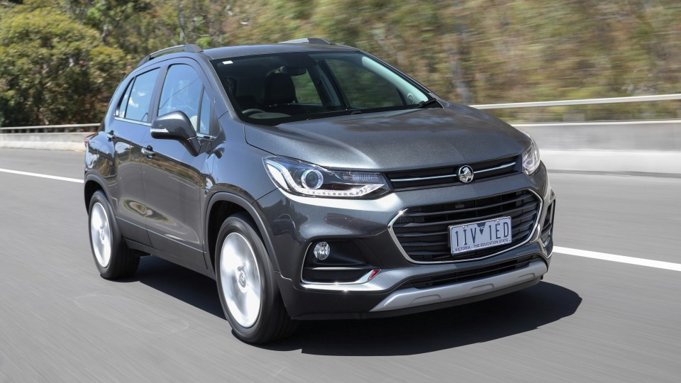 2017 Holden Trax.