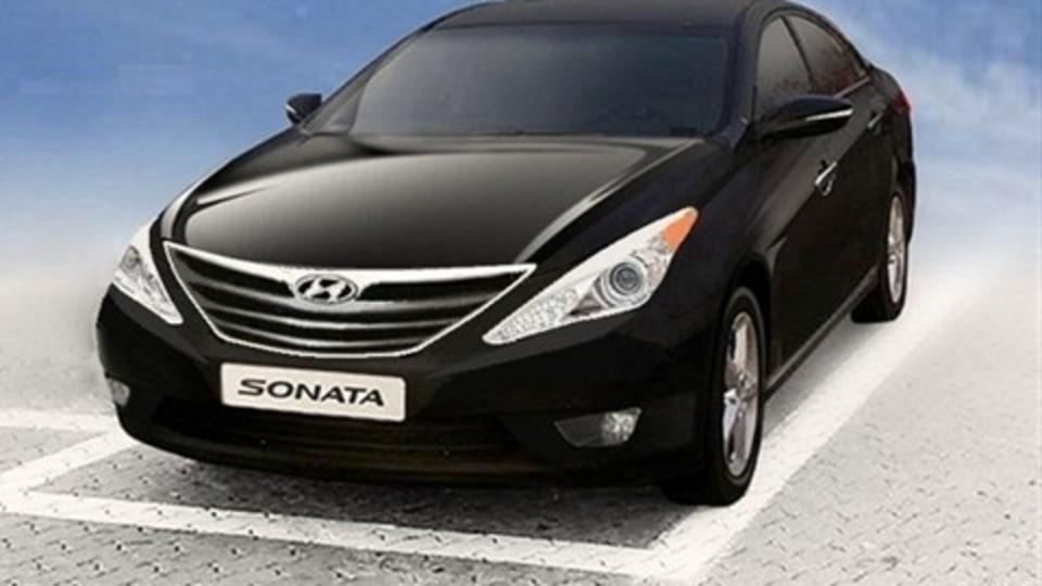 Guesswork: 2010 Hyundai 'YF' Sonata Illustration