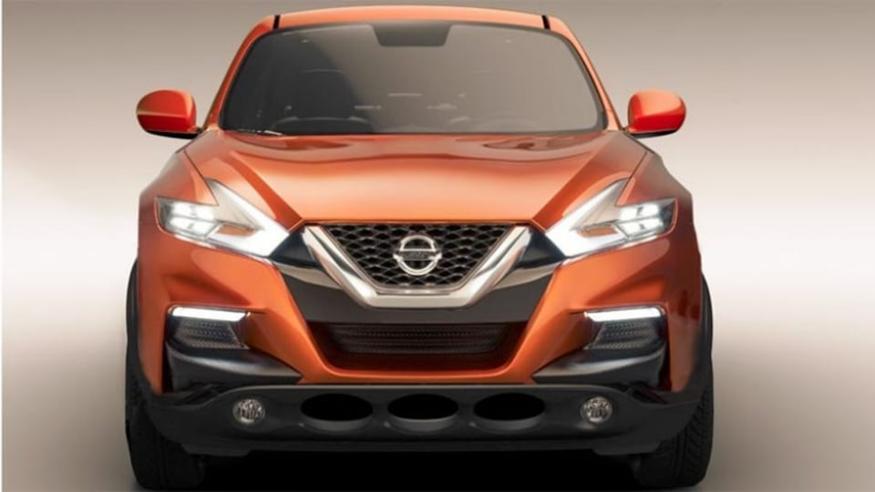 An artist's impression of what the new Nissan Juke may look like. Illustration: Lucas Kennedy.