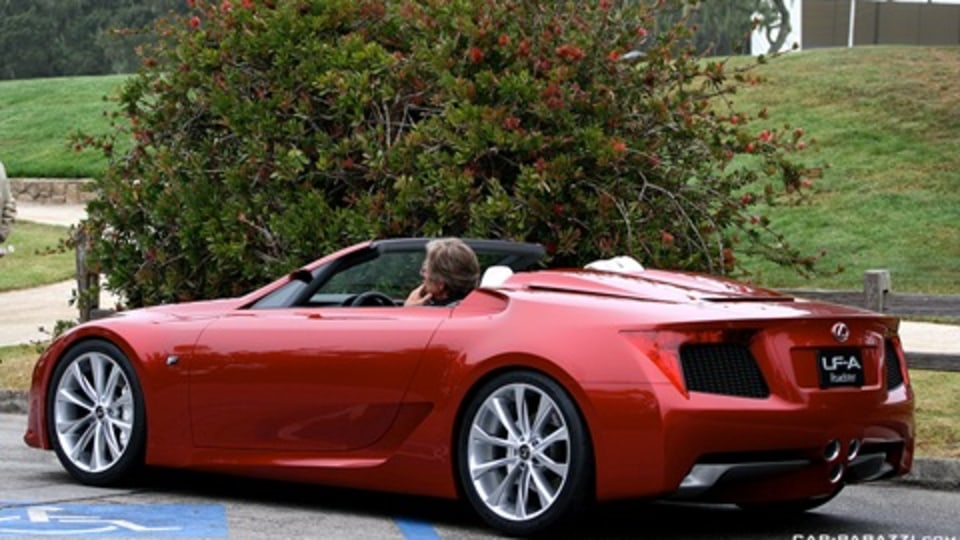 Photo Of The Day: Lexus LF-A Roadster On The Road