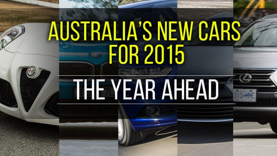 Australia's New Cars For 2015: The Year Ahead