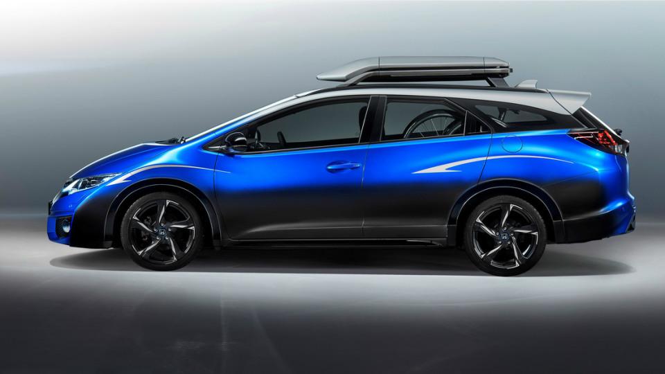 Honda Civic Tourer Active Life Concept Unveiled For Frankfurt