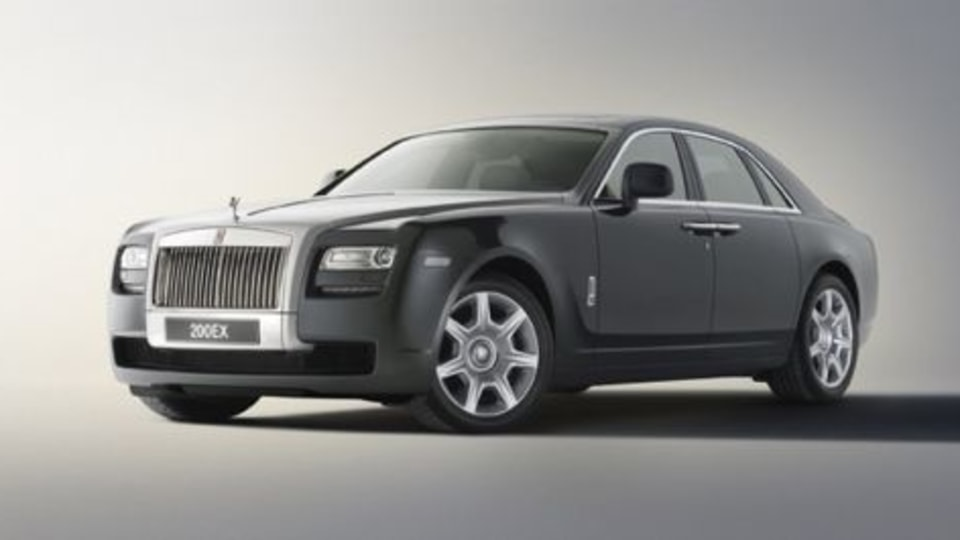 First Details Of Rolls Royce 200EX Emerge