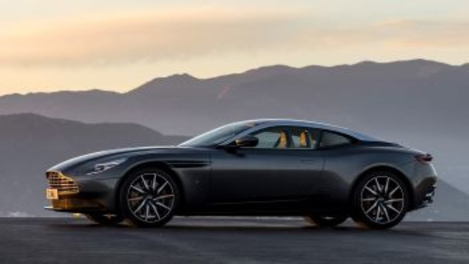 Aston Martin DB11 If Bang & Olufsen is your number one choice for music listening at home, you'll be glad to know you can slide right into the seat of a spanking new DB11 and enjoy the same acoustic clarity and warmth, courtesy of Bang & Oluf