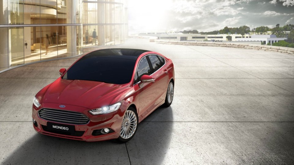 Ford is targeting the Toyota Camry with its new Mondeo.