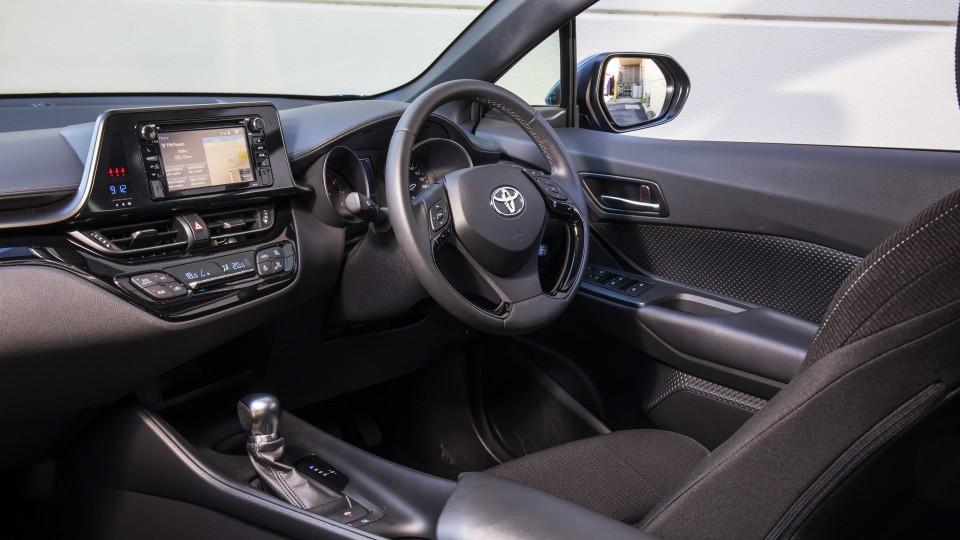 2017 Toyota C-HR.