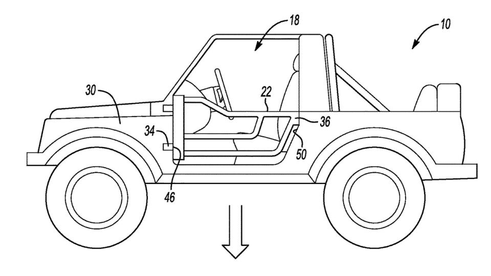 2021 Ford Bronco patents hint at removable doors