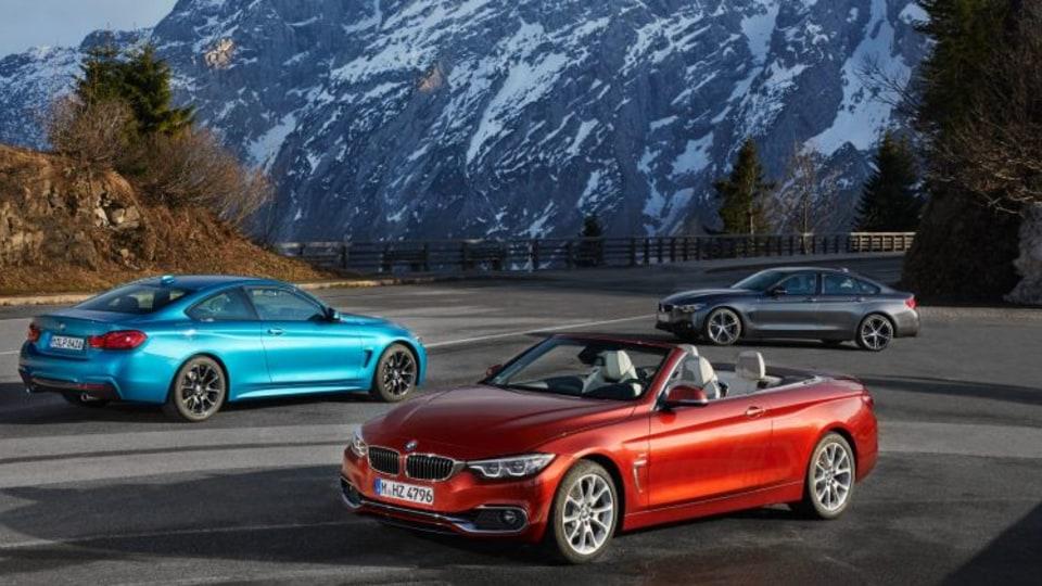 2017 BMW 4-Series range