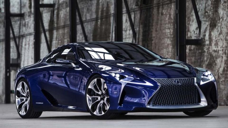 Lexus confirms LF-LC coupe production