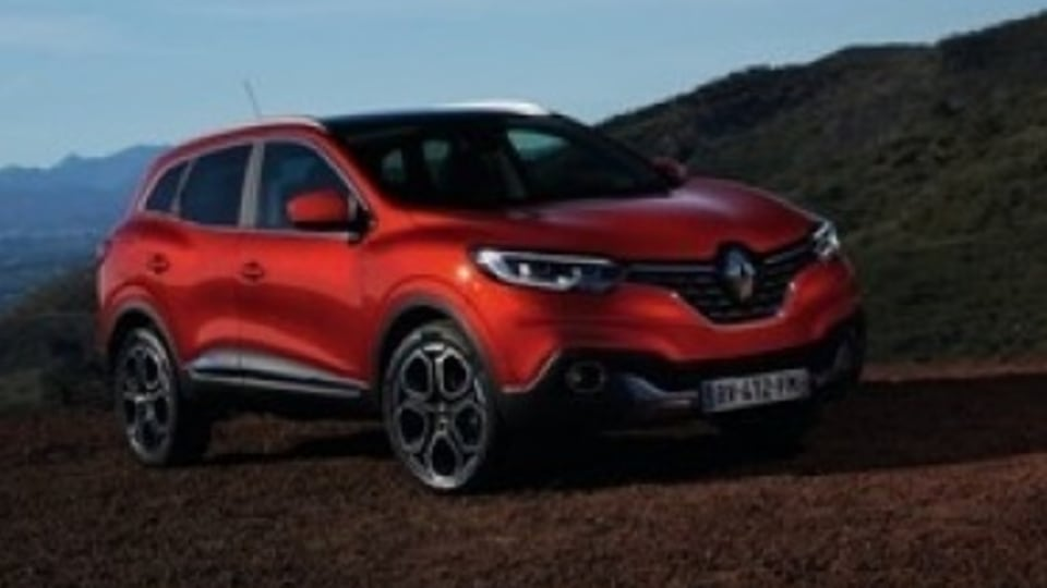 Renault Kadjar SUV unveiled