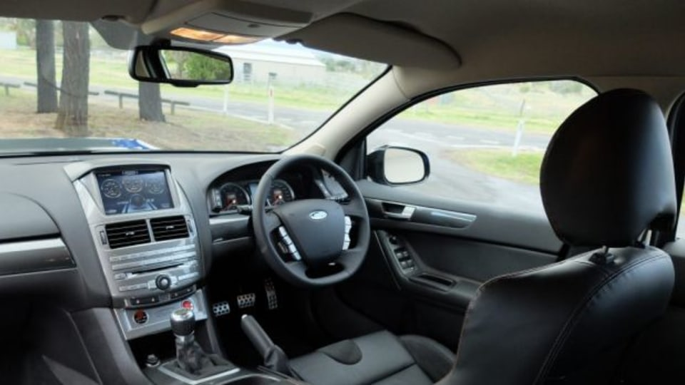Nothing to rave about: The interior of the GT F feels too plain.