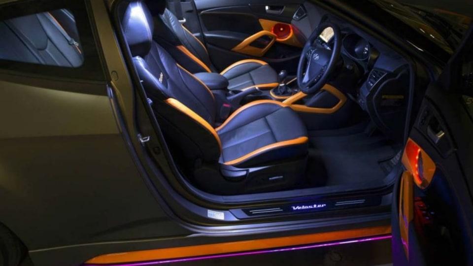 Hyundai Veloster Street Concept.