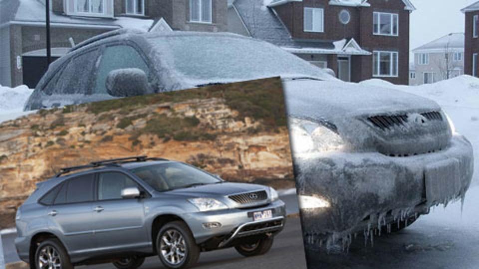 Lexus RX 350 Winter Warmer Edition