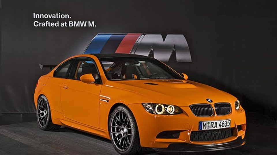 2010 BMW M3 GTS Road-Legal Track Car Launched In Europe