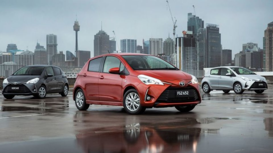 The Toyota yaris received a range of updates in 2017.