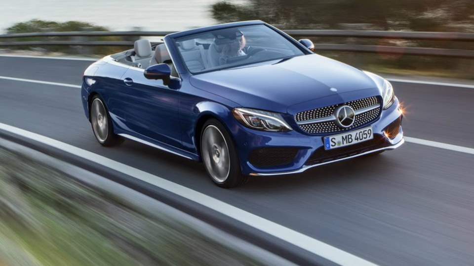 Mercedes-Benz C-Class Cabriolet On Show In Geneva