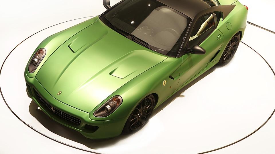 2010 Ferrari 599 HY-KERS Hybrid Concept Unveiled At Geneva