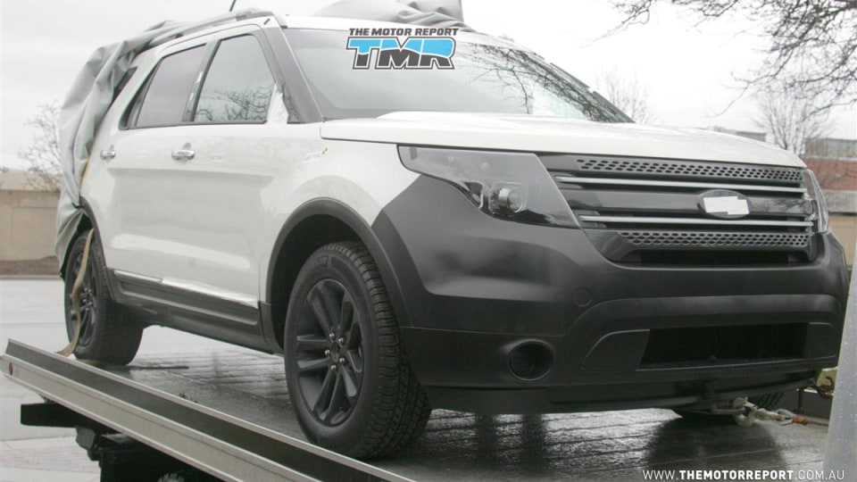 2011 Ford Explorer To Get Land Rover Traction Control, Australian Future Possible?