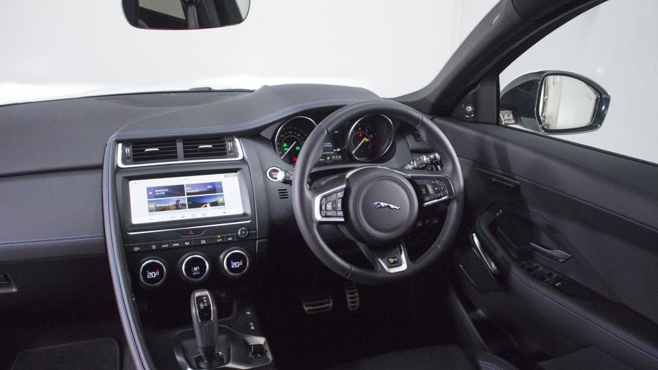 Jaguar E-Pace interior.