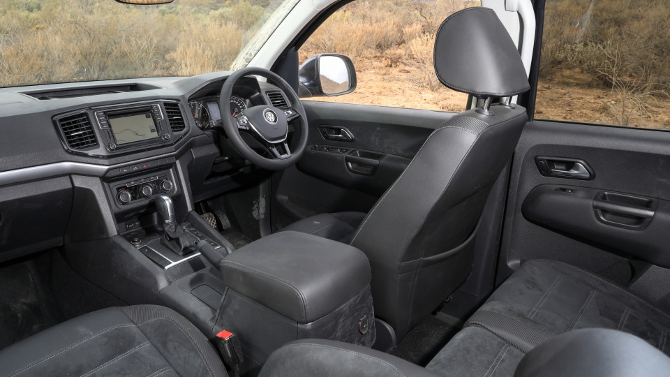 Outback Comparison Test - Volkswagen Amarok V6 Ultimate
