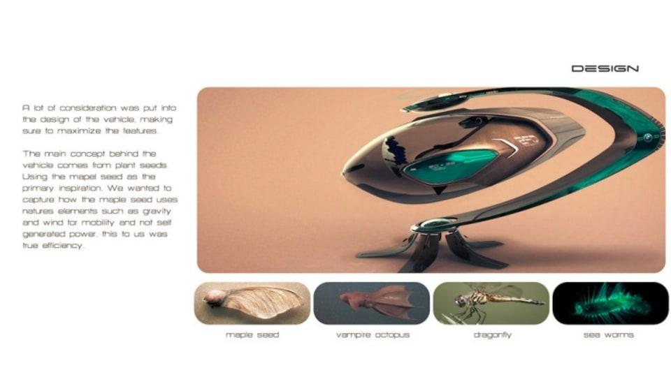 BMW Group DesignworksUSA: S.E.E.D. (Sustainable Efficient Exploratory Device).