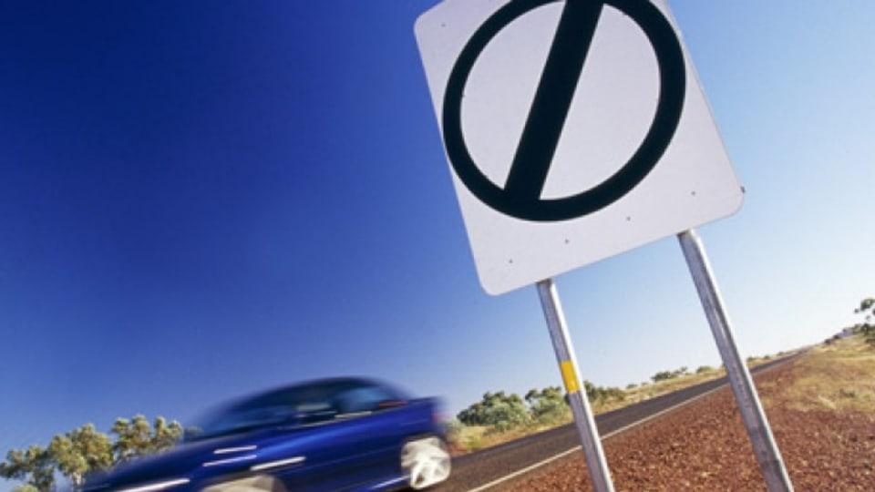 NO speed limit