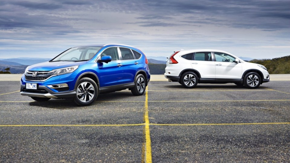The Honda CR-V has been give a mid-life overhaul for 2015.