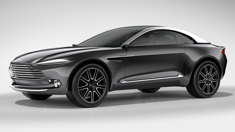 Aston Martin DBX Won't Use Mercedes Underpinnings: CEO