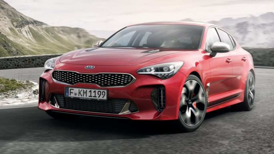 2017 Kia Stinger inspired by Maserati