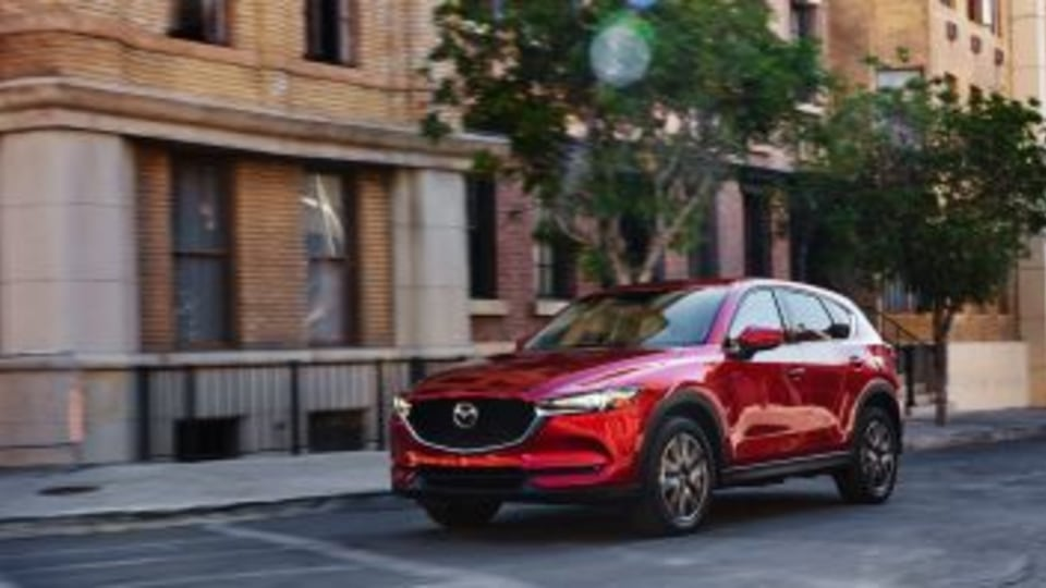 2017 Mazda CX-5. EMBARGO: 3PM 16/11/16