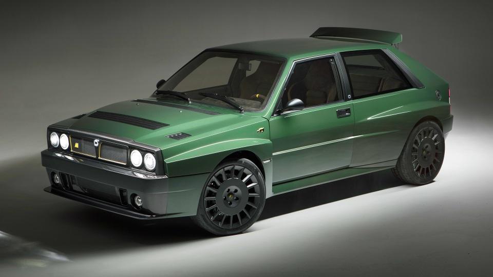 Singer-style Lancia Delta goes on sale