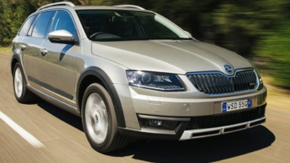 Skoda Octavia Scout new car review