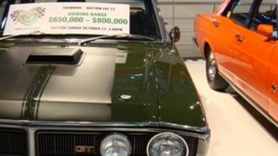 Australian Muscle under the hammer at Sydney Motor Show